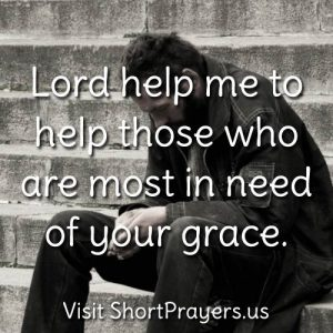 prayer to help the needy